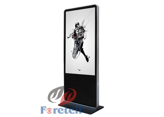 Google Android 4.2.2 Support Free Standing Digital Signage 84 Inch Digital Advertising Display Screens