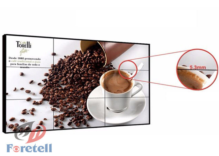 3D Noise Reduction Conference Room Video Wall , Full Screen Display Seamless Video Wall