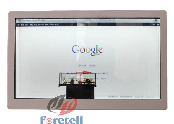 Multi Touch Panel Networking Transparent LCD Display 42 Inch 8ms Response Time